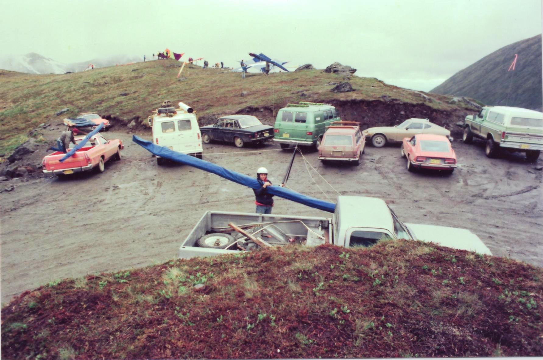 bill-sheka-hatchers-pass-july-3-1975-takeoff-unloading-pickup-truck