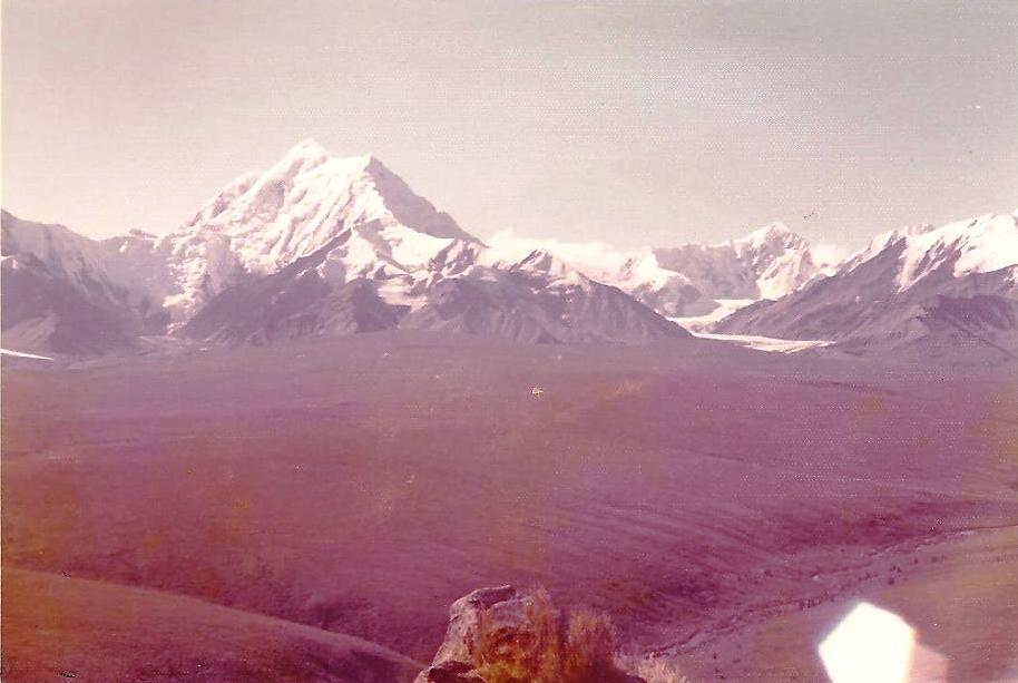 bill-sheka-taking-picture-from-molybedum-ridge-with-mt-hayes-in-background-aug-1971-fort-greely-alaska
