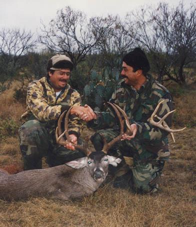 Rick and Bill Sheka with Rick's Beautiful 168 Gross Boone and Crockett